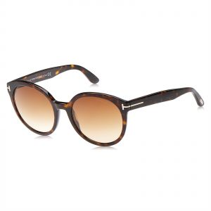 c632212537deb7 Tom Ford Philippa Oval Sunglasses for Women - Brown Lens, FT0503-52F