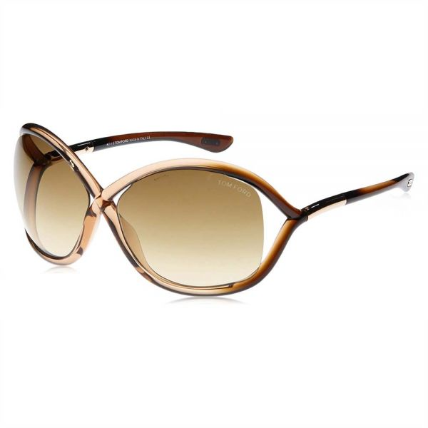 9ca75b9076 Tom Ford Whitney Butterfly Sunglasses for Women - Brown Lens