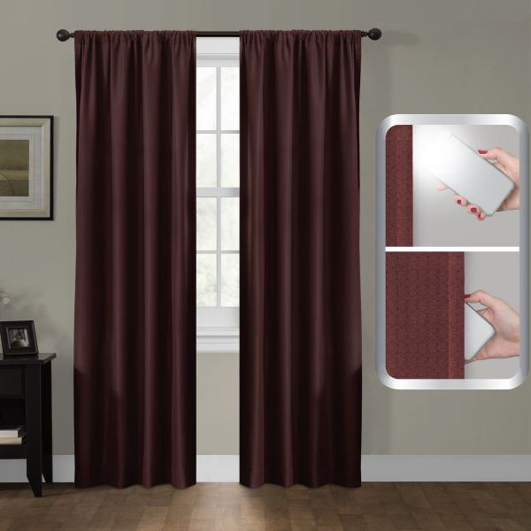 Maytex Certfied 100 Percent Blackout Smart Curtains Ultimate Light