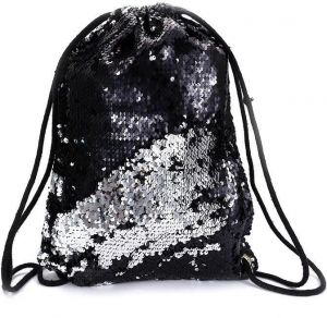 c1df63baf2 Mermaid Sequin Backpack Glittering Shoulder Bling Bags Reversible Glitter  Drawstring Backpacks Women Beach Bags