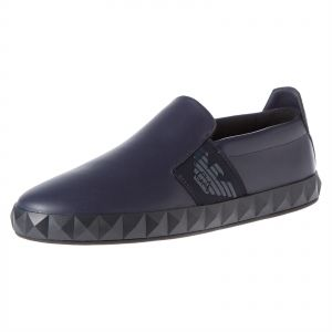 7c4b4c8cfa3021 Emporio Armani Loafers   Moccasian for Men - Navy