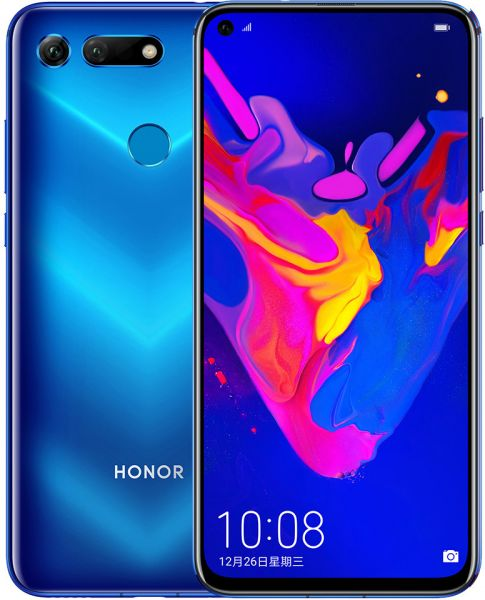 Honor View 20 Dual Sim - 256 GB, 8 GB Ram, 4G LTE, Phantom Blue, Pct-L29