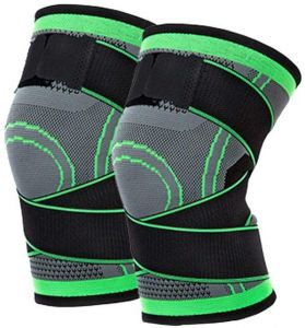 442bf8852459e 1pcs Unisex Basketball Support Silicon Padded sports Knee Pads Support Brace  Meniscus Patella Protector Sports Safety Protection Kneepad Free Size