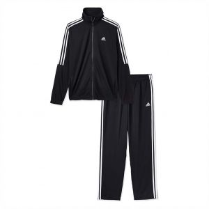 1b77b395a8d9 adidas Polyester Tiro Sport Track Suit for Men - Black White
