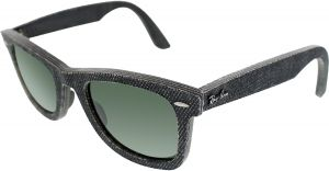 b68adb5ffa Ray-Ban Men s Wayfarer RB2140-1162-50 Grey Sunglasses