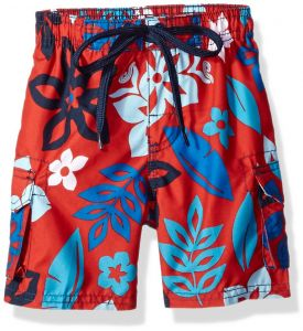 Kanu Surf Big Boys  Revival Floral Quick Dry Beach Board Shorts Swim Trunk efd4fd193f0