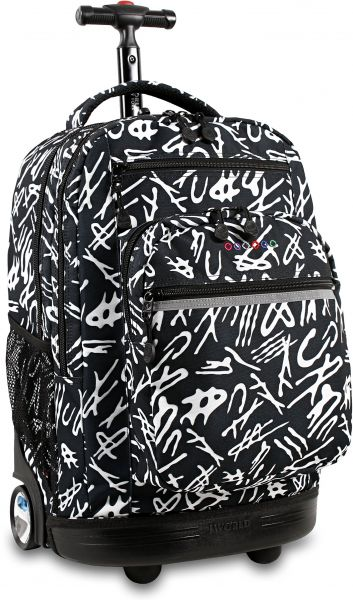 J World New York Sundance Laptop Rolling Backpack d5e5b70328419