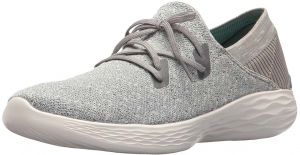 b23330615c2 Skechers You Exhale Sports Sneakers for Women - Grey White