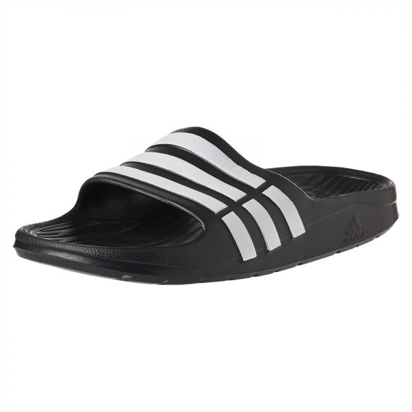 a0e47724f2f8 adidas Duramo Comfort Slide Sandals for Kids - Core Black Ftwwhite. by  adidas