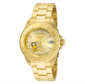 8fadb8cefe5 Invicta Men s Gold Dial Stainless Steel Band Watch - IN-24864