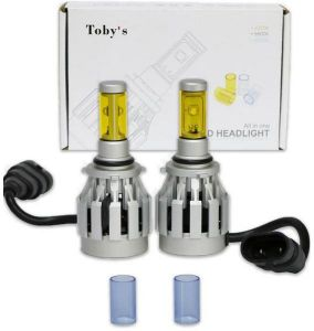 Tobys 2S 9006 LED Headlight Kit Bright 50W 2000LM 2s Bulb