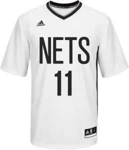 adidas NBA Men s Brooklyn Nets Brook Lopez Replica Player Pride Jersey 747e95d44