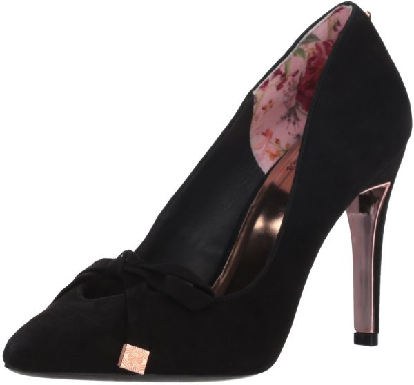 433a3297b1 Ted Baker Women's Gewell Pump, Black Suede, 8 M US | Souq - UAE