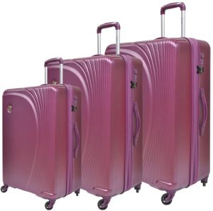 a5ebdc87f Buy globalway 3 pcs luggage travel set bag abs pc trolley suitcase ...