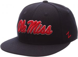 new styles c04b3 9b7d9 NCAA Mississippi Old Miss Rebels Men s M15 Fitted Hat, Navy, Size 7 1 8