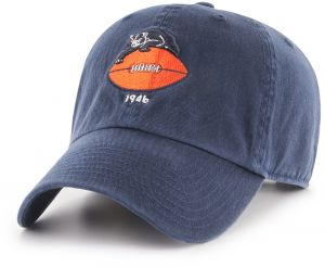 ac421a104505bd OTS NFL Chicago Bears Legacy Challenger Adjustable Hat, One Size, Navy