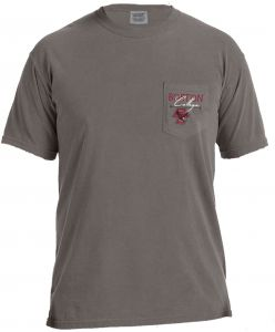 Image One NCAA Boston College Eagles Adventures Short Sleeve Comfort Color  Pocket Tee 32839dbed