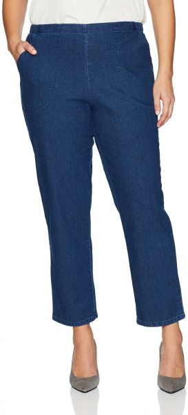 c192585cfd2 Just My Size Women s Apparel Women s Plus Size Stretch Pull on Jean ...