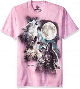 1bbd124cea1 The Mountain Three Wolf Moon Adult T-Shirt