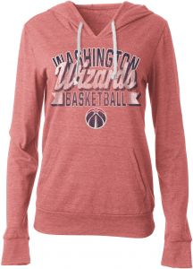 5th   Ocean NBA Washington Wizards Women s Tri Blend Jersey Pullover Hoodie  with Pouch Pocket 0abc71800