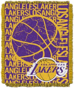 The Northwest Company Officially Licensed NBA Los Angeles Lakers Double  Play Jacquard Throw Blanket d7b143933