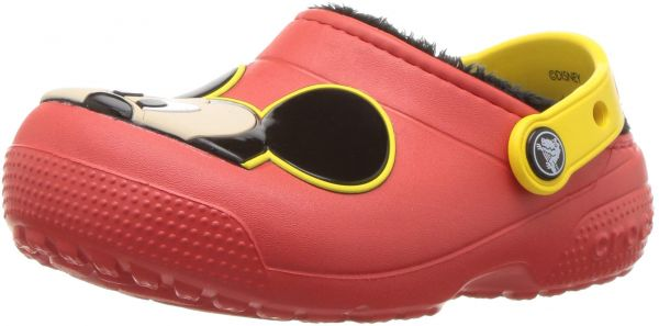 6fa1746a6 Crocs Unisex Fun Lab Lined Mickey Mouse Clog
