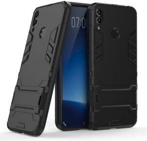 Huawei Honor 8C Hybrid Bumper Pro case cover - Black.