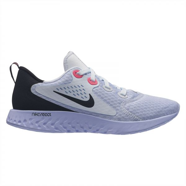big sale 7cc1b 0d609 Nike Legend React Running Shoes for Women - Football Grey Black   Souq - UAE