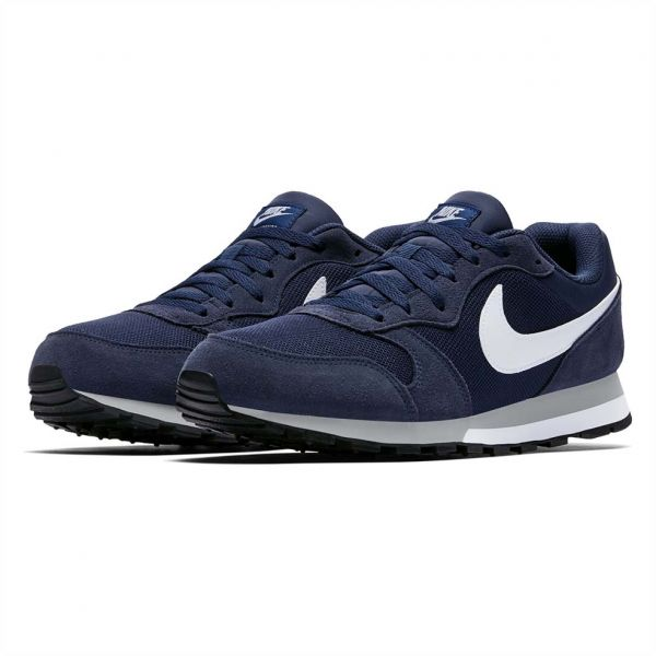 f8098838b Nike Md Runner 2 Running Shoes for Men - Midnight Navy Wolf Grey ...