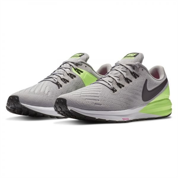 5ed35f94bc11 Nike Air Zoom Structure 22 Running Shoes for Men - Atmosphere  Grey Burgundy. by Nike