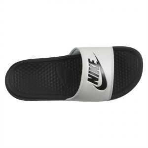 cheaper 60494 71ceb Nike Benassi JDI Slide Slippers for Women - Spruce Aura Black