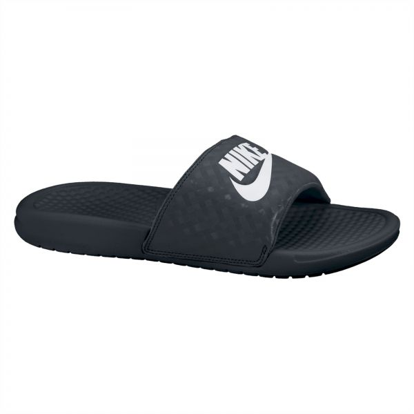 82cc7684c6b9 Nike Benassi JDI Slide Slippers for Women - Black White