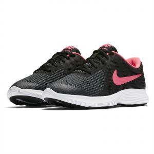 666c9ae63f Nike Revolution 4 GS Unisex Running Shoes - Black Racer Pink