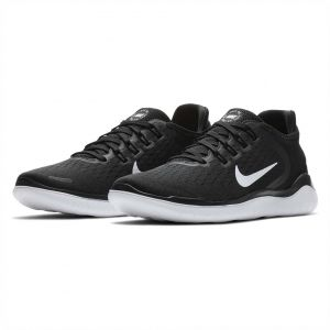 best website cb374 c011c Nike Free Rn 2018 Running Shoes for Women - BlackWhite