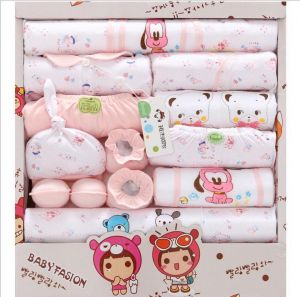 db3718d6883 One Month Baby Boy Girl Full Moon Gift Newborn Baby Gift Box Newborn 0-3  Months Cotton Cothes