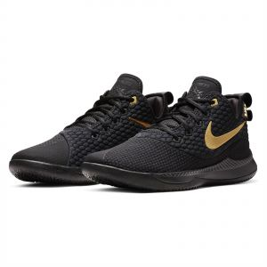 the latest 31e86 98c25 Nike Lebron Witness III Basketball Shoes for Men - Black Metallic Gold