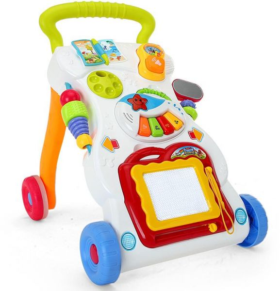 Baby Walker Baby Sit To Stand Learning Walker Toddler Toys Push And