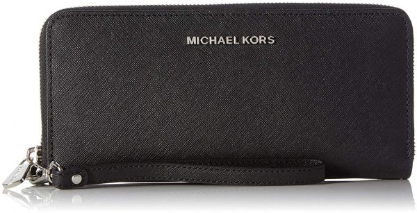 15e14eb22fbe Michael Kors Leather Zip Around Wallet for Women