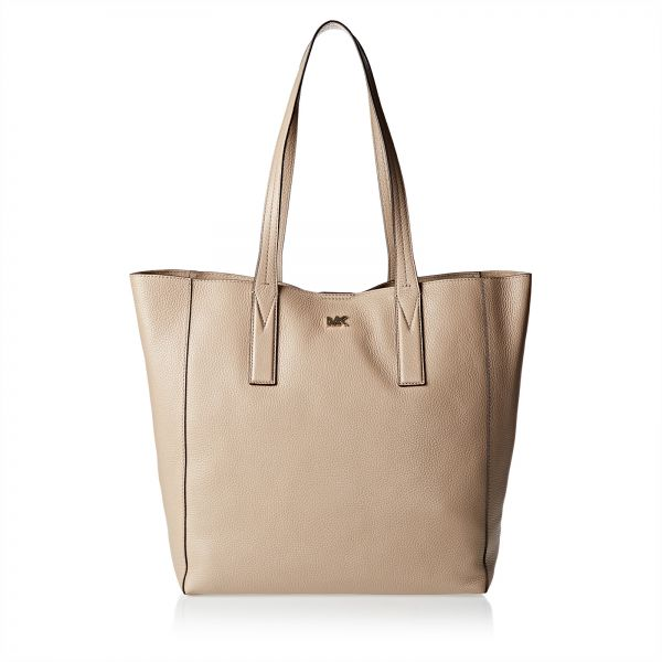 3b052093705d Michael Kors 30T8TX5T3L 208 Junie Large Pebbled Tote Bag for Women -  Leather, Beige. by Michael Kors, Handbags - Be the first to rate this  product. 45 % off