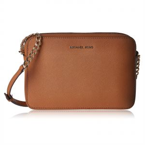 7a4695f9be2e Michael Kors 32S4GTVC3L-203 Jet Set Large Crossbody Bag for Women -  Leather