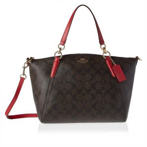 Coach F28989 Small Kelsey Satchel Bag for Women - Leather 2171eea8e7