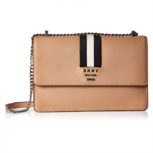 984ee037f6 DKNY R84ER936 Chain Crossbody Bag for Women - Leather