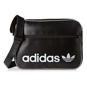 6d0b895528d6 Adidas Vintage Airliner Unisex Crossbody Bag - Black