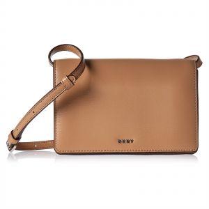 acf0c57068 DKNY R83E3623 Small Flap Crossbody Bag for Women - Leather