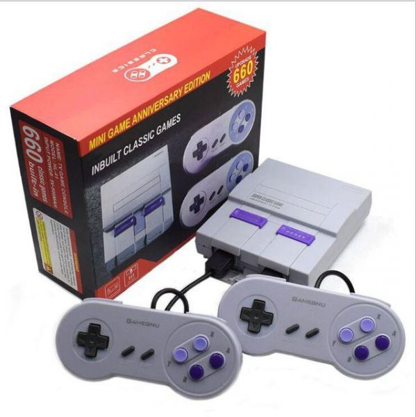 Super Classic Game Mini TV 8 Bit Family Entertainment TV Video Game Console 821 Different Games Buit-in dual Gamepad
