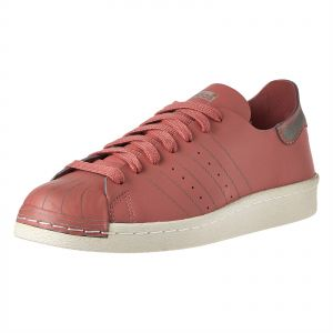 newest c3473 a9085 adidas Originals Superstar 80S Decon Fashion Sneakers for Women - ash PinkOff  White