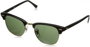 80021928d9d1 Ray-Ban Clubmaster Unisex Sunglasses - RB3016 W0365 51-21-145