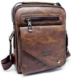 92c14b21e jeep buluo bag for men leather brown 10772958 - جيب بولو,جيب | مصر | سوق