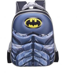 a3add3936d9c Fashion Batman Muscle Boy Nylon Children Safe School Backpack - 38x26x14 CM  Waterproof