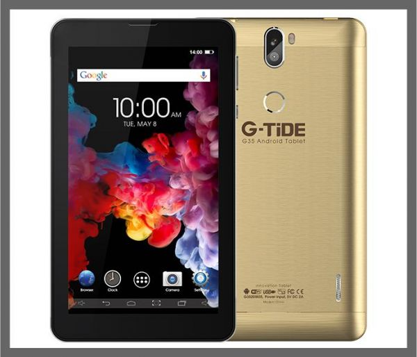 G-TiDE G 35 Tablet 7 inch 3 G -Gold